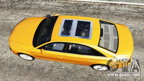 GTA 5 Audi A8 L (D4) 2013 [replace] vista trasera