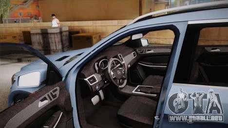 Mercedes-Benz GL63 Brabus para visión interna GTA San Andreas