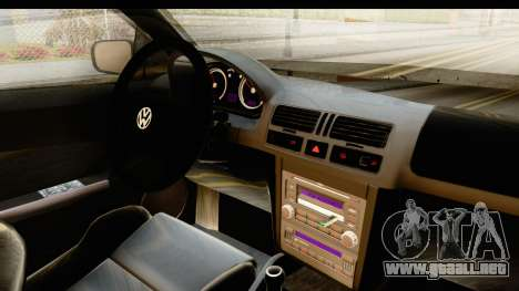Volkswagen Bora Pickup para visión interna GTA San Andreas
