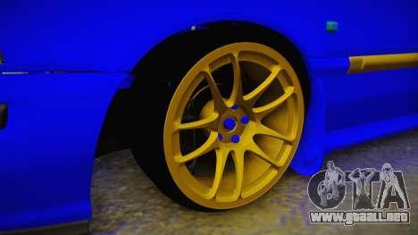 Rover 220 Bozgor Edition para GTA San Andreas vista hacia atrás
