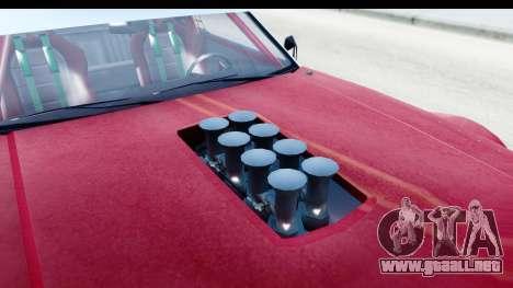 GTA 5 Declasse Tampa Drift IVF para visión interna GTA San Andreas