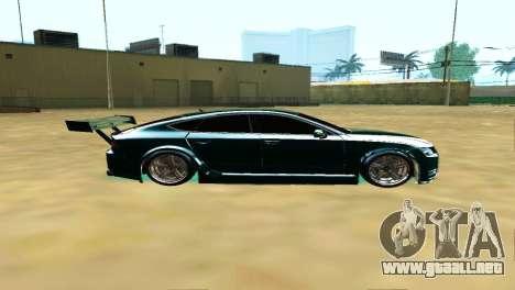 AUDI A7 SPORTS para GTA San Andreas left