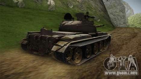 T-62 Desert Camo v1 para GTA San Andreas left