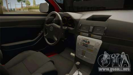 Toyota Hilux 2010 Venezolana de Off Road para visión interna GTA San Andreas