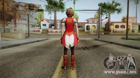 Dynasty Warriors 8 - Sun ShangXiang Remade para GTA San Andreas tercera pantalla