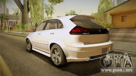GTA 5 Emperor Habanero IVF para GTA San Andreas left
