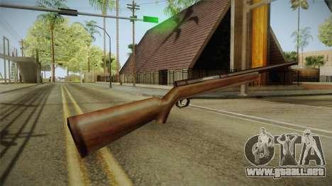 Silent Hill 2 - Rifle para GTA San Andreas segunda pantalla
