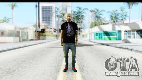 Blonde Messi para GTA San Andreas segunda pantalla