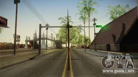 Silent Hill 2 - Weapon 4 para GTA San Andreas segunda pantalla