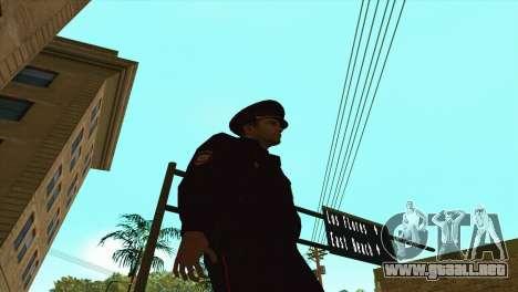 Principales interior para GTA San Andreas tercera pantalla
