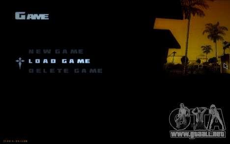 New Fonts para GTA San Andreas tercera pantalla