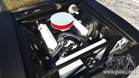 GTA 5 Plymouth Cuda BeckKustoms vista lateral trasera derecha