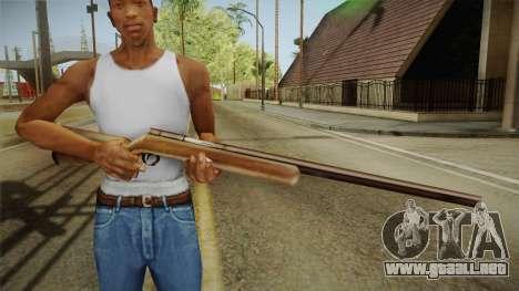 Silent Hill 2 - Rifle para GTA San Andreas tercera pantalla