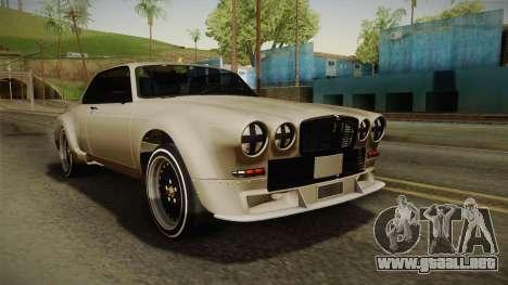 Jaguar Broadspeed XJC para GTA San Andreas