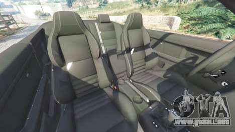 GTA 5 BMW 328i (E36) M-Sport [replace] delantero derecho vista lateral
