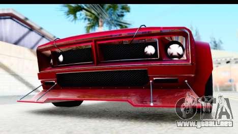 GTA 5 Declasse Tampa Drift IVF para vista lateral GTA San Andreas