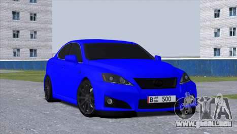 Lexus IS-F para GTA San Andreas