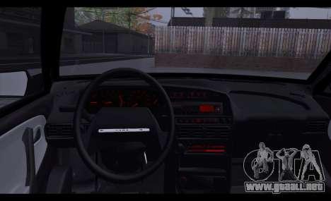 VAZ 2113 Zenki para GTA San Andreas vista posterior izquierda