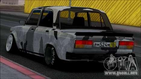 2107 Sola para visión interna GTA San Andreas