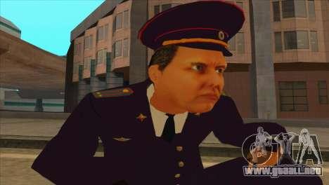 Karpov v2 para GTA San Andreas quinta pantalla