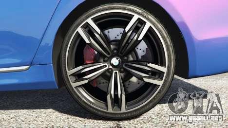 GTA 5 BMW 750i xDrive M Sport (G11) [add-on] vista lateral trasera derecha