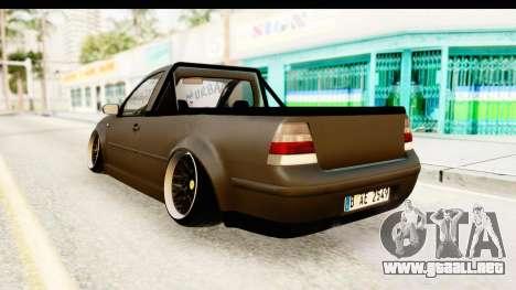 Volkswagen Bora Pickup para GTA San Andreas left
