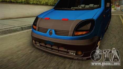 Renault Kangoo para visión interna GTA San Andreas