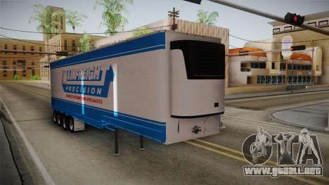Trailer 4 Axle para GTA San Andreas vista posterior izquierda