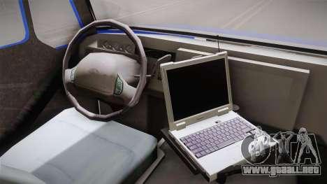 International Terrastar Ambulance 2014 para visión interna GTA San Andreas