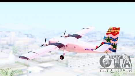 DHC-6-400 Cayman Airways para la visión correcta GTA San Andreas