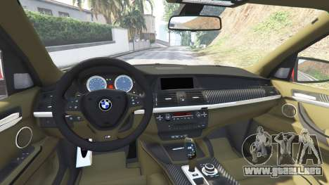 GTA 5 BMW X5 M (E70) 2013 v0.3 [replace] delantero derecho vista lateral