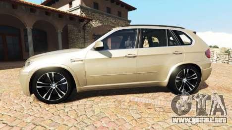 GTA 5 BMW X5 M (E70) 2013 v1.2 [add-on] vista lateral izquierda