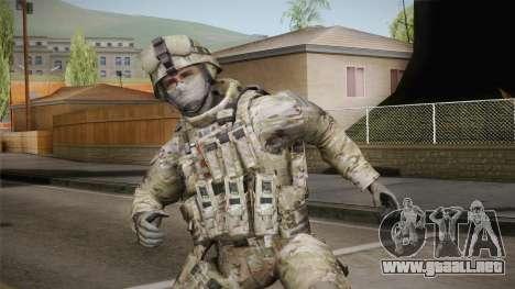 Multicam US Army 4 v2 para GTA San Andreas