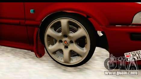 Rover 220 Kent 2 para GTA San Andreas vista hacia atrás