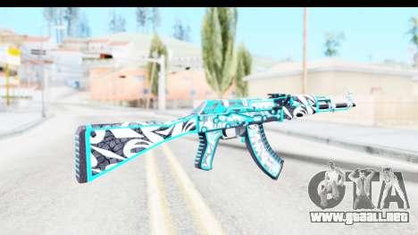 AK-47 Frontside Misty para GTA San Andreas segunda pantalla