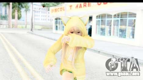 Marie Rose Newcomer Yellow para GTA San Andreas