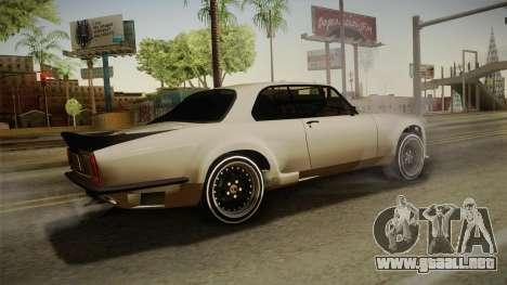 Jaguar Broadspeed XJC para GTA San Andreas left
