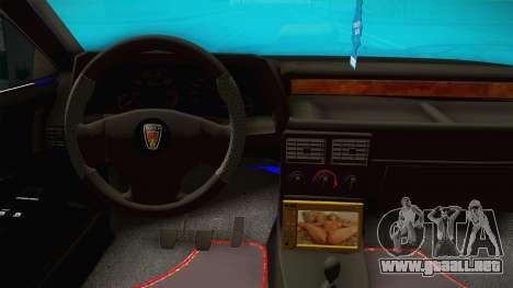 Rover 220 Bozgor Edition para visión interna GTA San Andreas