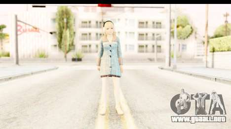 DoA 5: LR - Marie Rose Sweater para GTA San Andreas segunda pantalla