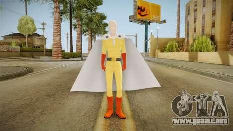 Saitama v2 para GTA San Andreas segunda pantalla