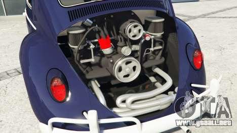 GTA 5 Volkswagen Fusca 1968 v0.9 [add-on] vista lateral derecha