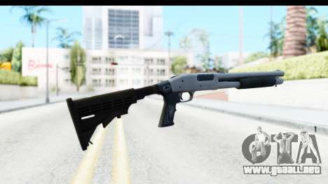 Tactical Mossberg 590A1 Chrome v2 para GTA San Andreas segunda pantalla