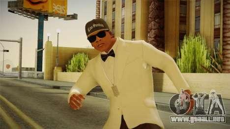 GTA 5 Franklin Tuxedo v3 para GTA San Andreas