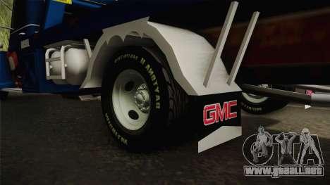 GMC 4100 1950 GRUA para visión interna GTA San Andreas