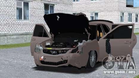 Lada Priora Brodyaga para la visión correcta GTA San Andreas