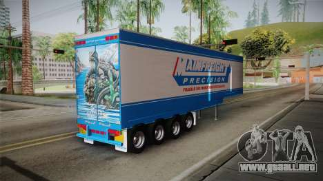 Trailer 4 Axle para GTA San Andreas left