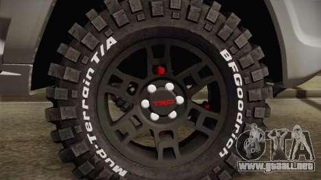 Toyota 4runner 2010 para GTA San Andreas