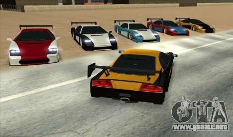 Turismo Major Ver.2 para GTA San Andreas left