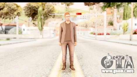 GTA 5 Random Skin 4 para GTA San Andreas segunda pantalla