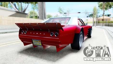 GTA 5 Declasse Tampa Drift IVF para GTA San Andreas left